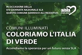 XIV Giornata Nazionale della SLA. Coloriamo di verde l'Italia