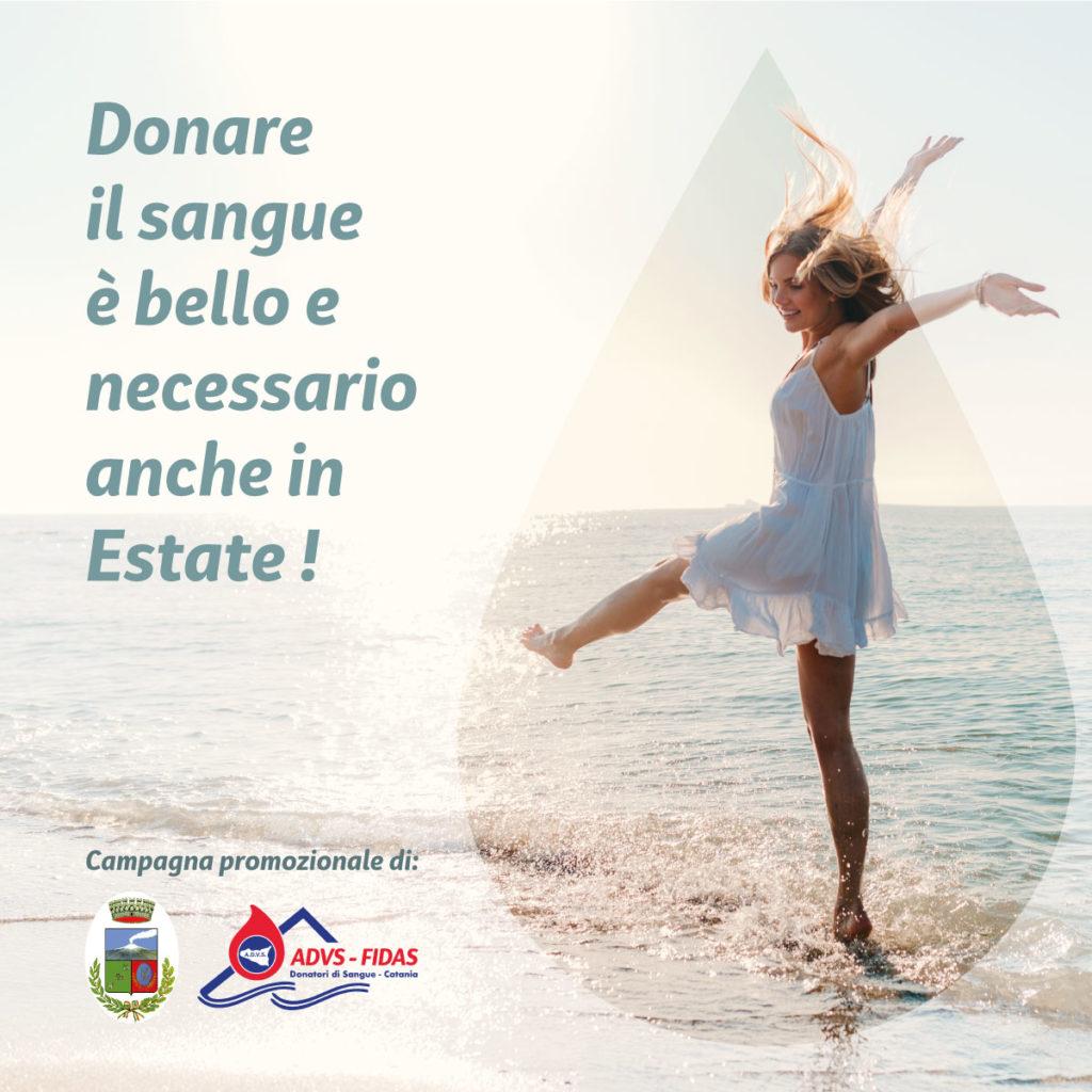 Iniziativa promozionale per la donazione del sangue